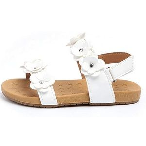 Girl's Cherokee Open Toe Flower Strap Sandals